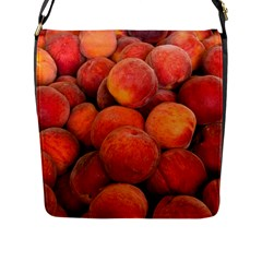 Peaches 2 Flap Messenger Bag (l)