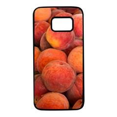 Peaches 2 Samsung Galaxy S7 Black Seamless Case
