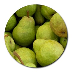 Pears 1 Round Mousepads
