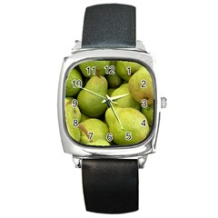 Pears 1 Square Metal Watch