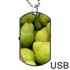 Pears 1 Dog Tag Usb Flash (one Side)