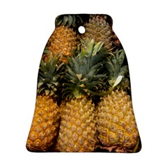 Pineapple 1 Bell Ornament (two Sides)