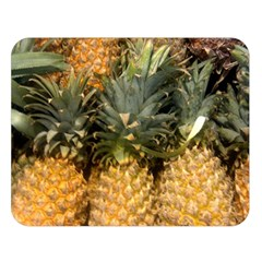 Pineapple 1 Double Sided Flano Blanket (large)