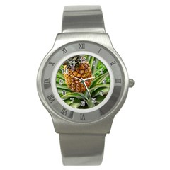 Pineapple 2 Stainless Steel Watch