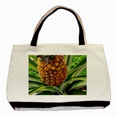 Pineapple 2 Basic Tote Bag (two Sides)