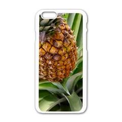 Pineapple 2 Apple Iphone 6/6s White Enamel Case