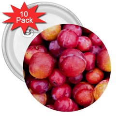 Plums 1 3  Buttons (10 Pack)