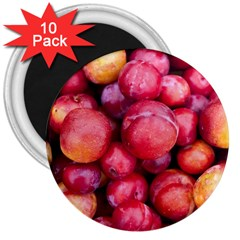 Plums 1 3  Magnets (10 Pack)