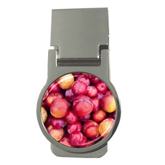 Plums 1 Money Clips (round)
