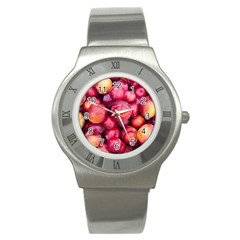 Plums 1 Stainless Steel Watch
