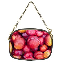 Plums 1 Chain Purses (two Sides)