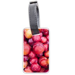 Plums 1 Luggage Tags (two Sides)