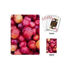 Plums 1 Playing Cards (mini)