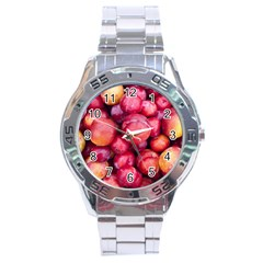 Plums 1 Stainless Steel Analogue Watch