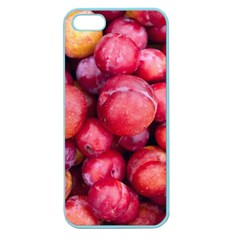 Plums 1 Apple Seamless Iphone 5 Case (color)