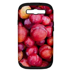 Plums 1 Samsung Galaxy S Iii Hardshell Case (pc+silicone)