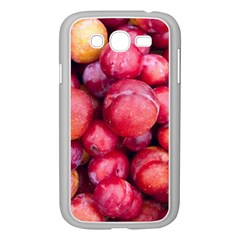 Plums 1 Samsung Galaxy Grand Duos I9082 Case (white)