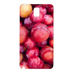 Plums 1 Samsung Galaxy Note 3 N9005 Hardshell Back Case