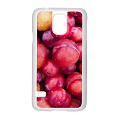 Plums 1 Samsung Galaxy S5 Case (white)