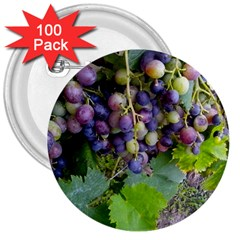 Grapes 2 3  Buttons (100 Pack)