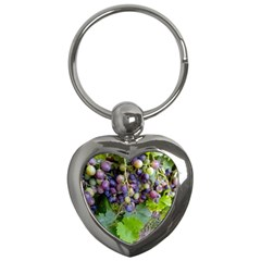 Grapes 2 Key Chains (heart)