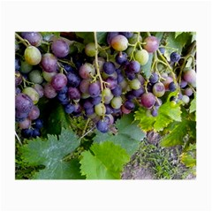 Grapes 2 Small Glasses Cloth (2 Side)