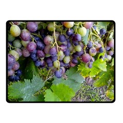 Grapes 2 Double Sided Fleece Blanket (small)