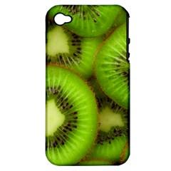 Kiwi 1 Apple Iphone 4/4s Hardshell Case (pc+silicone)