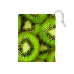 Kiwi 1 Drawstring Pouches (medium)