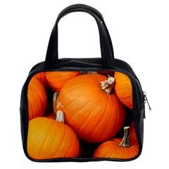 Pumpkins 1 Classic Handbags (2 Sides)