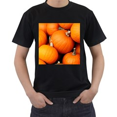 Pumpkins 1 Men s T Shirt (black)
