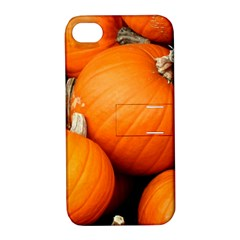 Pumpkins 1 Apple Iphone 4/4s Hardshell Case With Stand