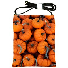 Pumpkins 2 Shoulder Sling Bags