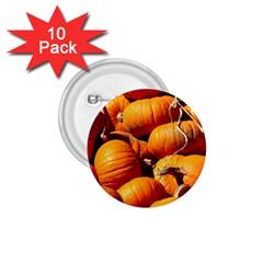 Pumpkins 3 1 75  Buttons (10 Pack)