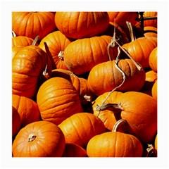 Pumpkins 3 Medium Glasses Cloth (2 Side)