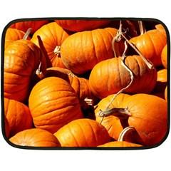 Pumpkins 3 Fleece Blanket (mini)