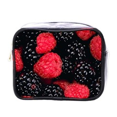 Raspberries 1 Mini Toiletries Bags