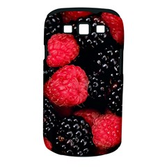 Raspberries 1 Samsung Galaxy S Iii Classic Hardshell Case (pc+silicone)