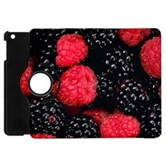 Raspberries 1 Apple Ipad Mini Flip 360 Case