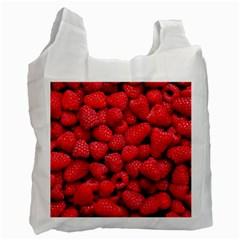 Raspberries 2 Recycle Bag (two Side)
