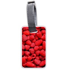Raspberries 2 Luggage Tags (two Sides)