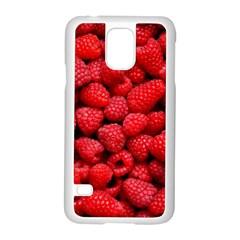 Raspberries 2 Samsung Galaxy S5 Case (white)