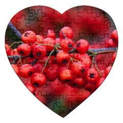 Red Berries 1 Jigsaw Puzzle (heart)