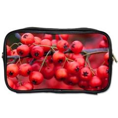 Red Berries 1 Toiletries Bags 2 Side