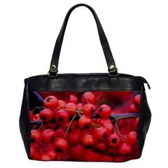 Red Berries 1 Office Handbags