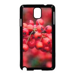 Red Berries 1 Samsung Galaxy Note 3 Neo Hardshell Case (black)
