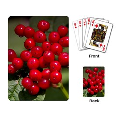 Red Berries 2 Playing Card