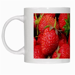 Strawberries 1 White Mugs