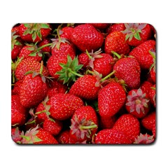 Strawberries 1 Large Mousepads