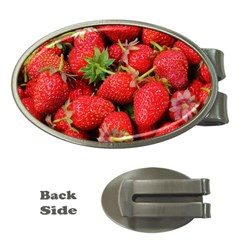 Strawberries 1 Money Clips (oval)